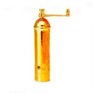 ALEXANDER Brass pepper mill, made in Greece, No 133