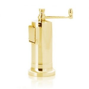 Cast brass pepper mill Alexander No 6