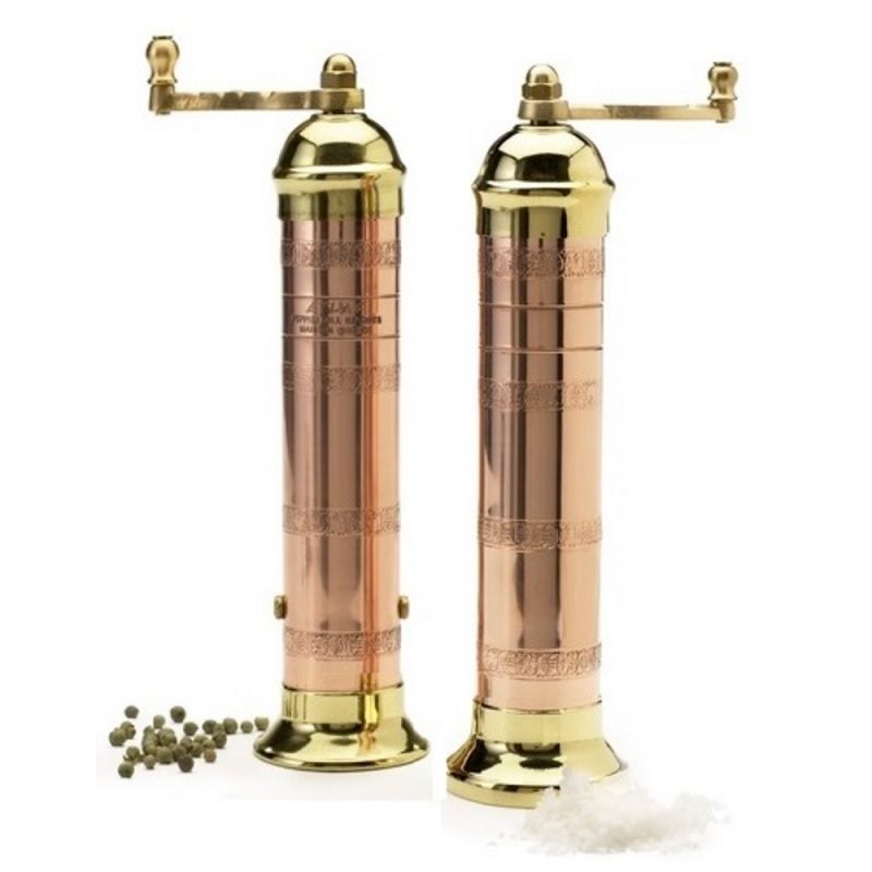 Atlas Moderno Brass//Copper Pepper Mill